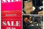 Siêu thị, trung tâm thương mại xả hàng, giảm giá sâu