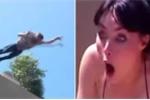 Clip: Chàng trai điên rồ nhảy từ tầng 4 xuống cầu hôn bạn gái