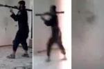 Clip: Khủng bố IS bắn súng diệt tăng tự phá tan sào huyệt của mình