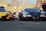 Clip: Dàn siêu xe của các đại gia Dubai tụ họp