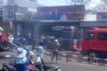 Lửa bùng lên sau tiếng nổ lớn, trung tâm TP Pleiku náo loạn