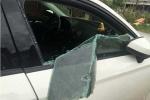 Đập vỡ kính xe Audi, lấy sạch tiền, giấy tờ