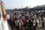 Biển động dữ dội, hơn 200 hành khách kẹt trên đảo Lý Sơn