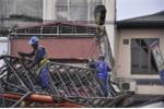 Công an điều tra vụ sập cần cẩu tại dự án đường sắt Hà Nội