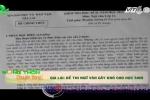 Đề thi Ngữ văn 'đánh võng' khiến học sinh hoang mang