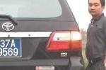Tài xế Sở GTVT Nghệ An 'làm luật', tấn công phóng viên bị phạt 13 triệu đồng