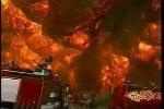 Clip: Cháy xe bồn kinh hoàng trong lịch sử Trung Quốc