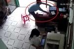 Clip: Vào tiệm photocopy, táo tợn cướp laptop rồi bỏ chạy