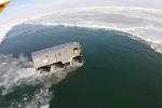 Video: Xem 'Quái vật lưỡng cư' của Nga vượt tuyết, băng biển 'thần sầu'
