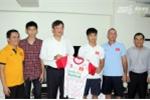 Đại sứ Việt Nam tại Myanmar thăm U19 trước trận gặp U19 Trung Quốc