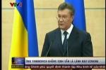 Clip: Ông Yanukovich khẳng định vẫn là lãnh đạo Ukraine