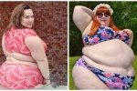 Clip: Cô gái siêu mập tự tin mặc bikini khoe dáng ở bể bơi gây 'sốt'