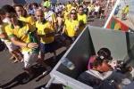 Cảnh tận cùng nghèo khổ sau ánh hào quang World Cup