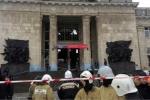 Video: Cảnh tượng đánh bom tự sát ghê sợ ở Nga