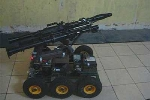 Việt Nam chế tạo thành công rô-bốt chiến trường