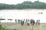 Lật thuyền trên sông Lam, hai chị em mất tích