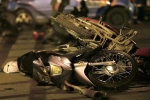 Ảnh: Hiện trường vụ tai nạn kinh hoàng trên cầu vượt Thái Hà – Chùa Bộc