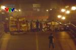 Video: Hiện trường thảm khốc vụ taxi đâm liên hoàn trên cầu vượt Thái Hà