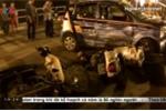 Toàn cảnh vụ taxi gây tai nạn liên hoàn trên cầu vượt Thái Hà