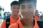 U19 Việt Nam vừa đến Lào đã lao vào tập luyện