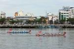 Đà Nẵng: Ngàn người theo dõi Cuộc thi đua thuyền mừng Quốc khánh