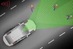 Hệ thống phát hiện đi bộ và tự động phanh của Volvo