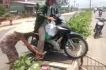 'Nghề lạ' trên đường vành đai ngoài ở Sài Gòn