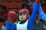 Clip: Trần Khánh Trang giành HCV Vovinam hạng 50kg nữ