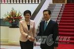 Những hình ảnh Thủ tướng Yingluck tại Hà Nội