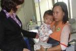 VTC News tặng 1600 hộp sữa TH True milk cho bệnh nhi