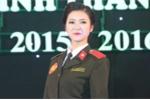 Học viên tài sắc trường An ninh khỏe khoắn trong trang phục ngành