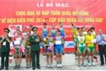 """Cuộc đua xe đạp toàn quốc mở rộng """"Về Điện Biên Phủ 2014 - Cúp Báo Quân đội nhân dân' kết thúc thắng lợi"""