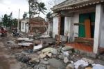 Hình ảnh đổ nát ở nơi thiệt hại nặng nhất sau bão