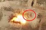 Clip: Không quân Syria bắn tan xác xe tăng IS