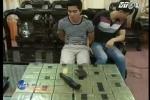 Clip: Truy đuổi ôtô chở 36 bánh heroin ở Bắc Giang