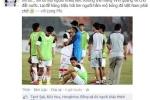 Cầu thủ U19 Việt Nam xin lỗi người hâm mộ