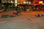 Xe máy tông xe đạp điện, 2 nữ sinh chết thảm thương