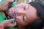 Giải mã hình xăm trên mặt phụ nữ người Mảng