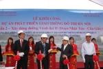 Hà Nội: Khởi công xây dựng đường vành đai 2