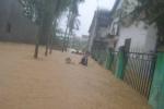 Hình ảnh: Dân miền Trung ngụp lặn trong dòng lũ dữ