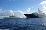 'Cuộc chiến' siêu du thuyền của tỷ phú Nga và Qatar