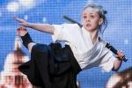 Clip: Bé gái múa kiếm katana 'thần sầu' khiến giám khảo kinh ngạc