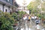 Người dân đổ về chùa Thiên Hưng xin lộc đầu năm