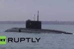 Video: Hạm đội Biển Đen Nga diễn tập cứu nạn tàu ngầm