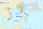 Tin mới nhất về diễn biến hướng đi bão số 2 trên biển Đông