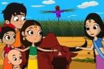 Ảnh độc lạ 'Cô dâu 8 tuổi' phiên bản hoạt hình đang gây sốt ở Ấn Độ