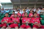 Dàn 'Công Phượng nhí' cười tít mắt cổ vũ U21 HAGL