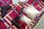 Triệt phá đường dây ma túy 'khủng', tàng trữ súng trái phép ở TP.HCM