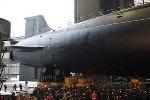 Siêu tàu ngầm lớp Borei thứ 3 của Nga bắt đầu lặn nước