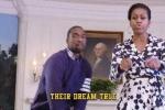 Clip: Phu nhân Tổng thống Obama hát rap